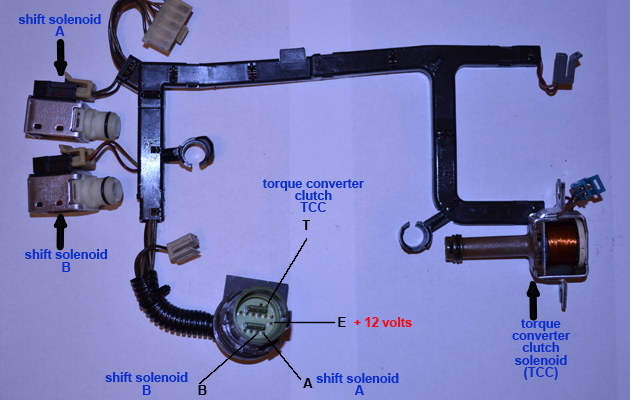 4l60e With Tcc Solenoid Wiring Harness Wiring Diagram Wiring