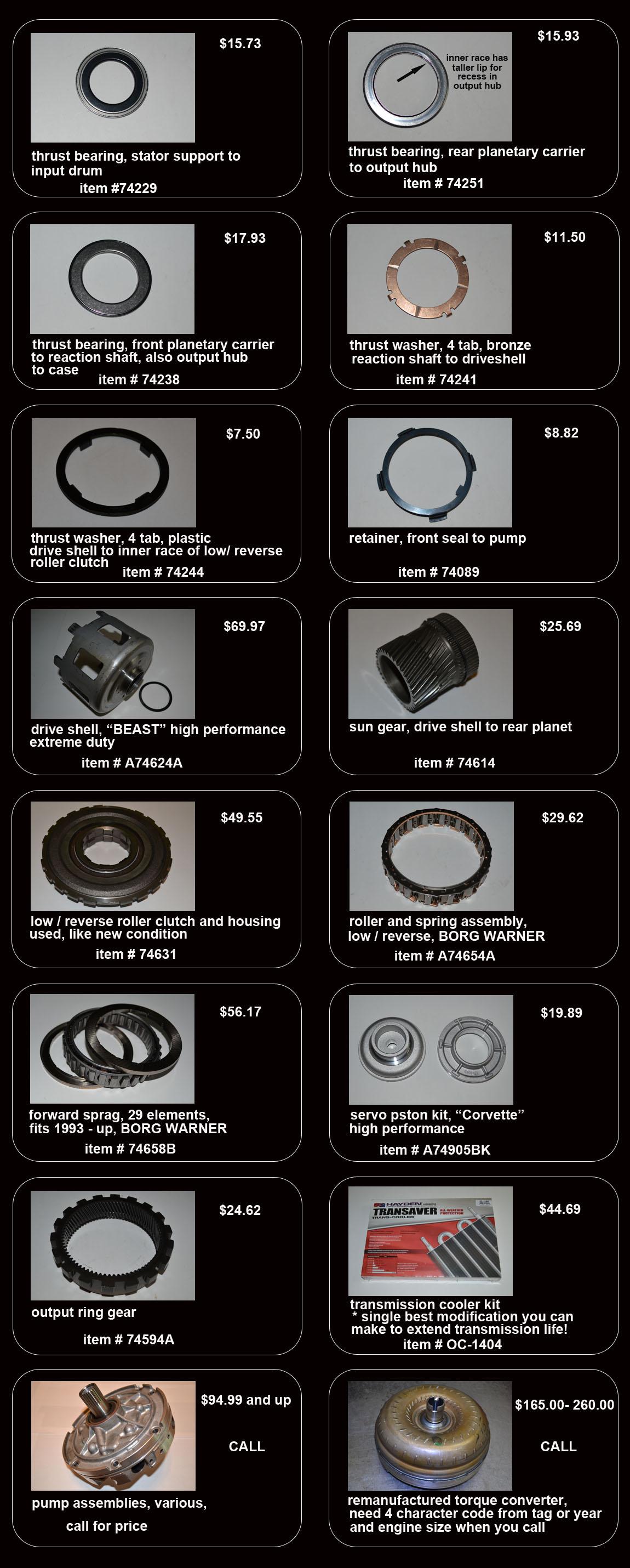 4l60e Kits Tools And Parts